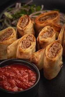 Spicy armenian food