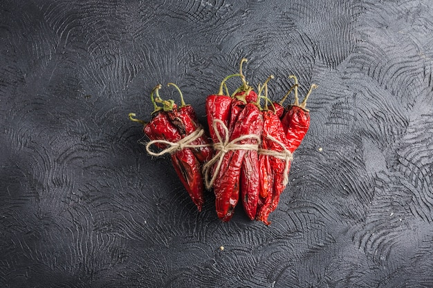 Spicy chili on a dark background