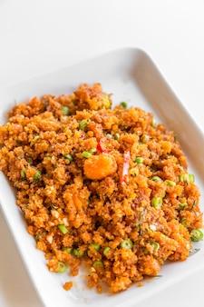 Spicy crispy fried fish