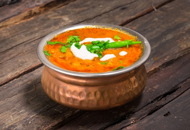 Spicy dal fry dhal/daal curry popular traditional north/south indian food