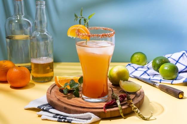 Состав напитка пряный мичелада