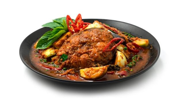 Pangasius fish 매운 볶음