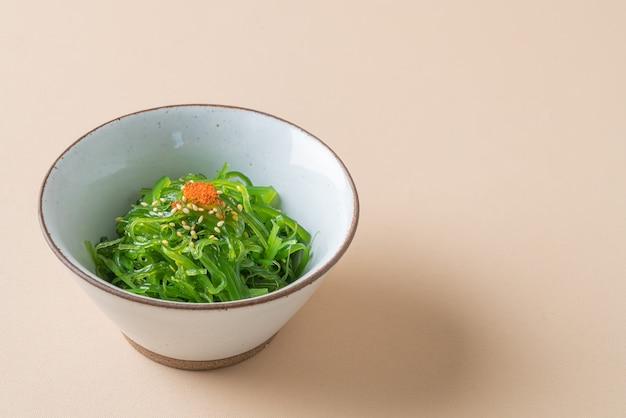 Spicy wakame seaweed salad
