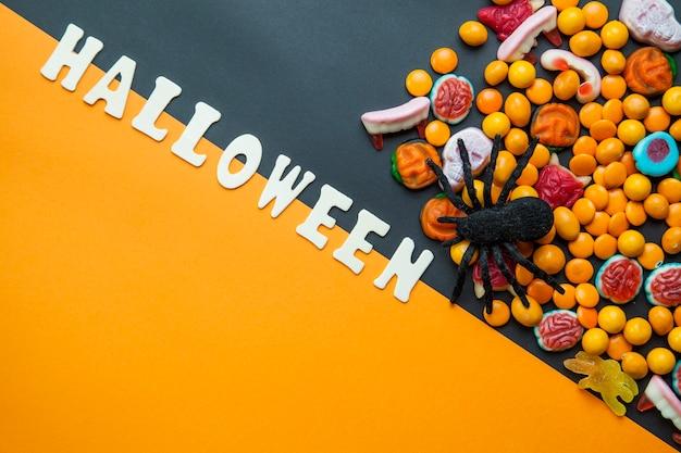 Паук и хэллоуин