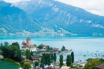 Spiez Castle in Switzerland