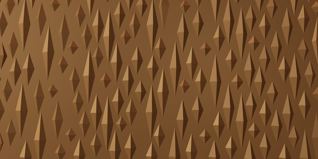 Колючие треугольник абстрактный геометрический фон 3d иллюстрация