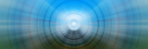 Абстрактный фон из красочных spin circle radial motion blur