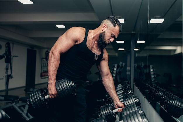 Colonna vertebrale sportivo stomaco sportivo maschile