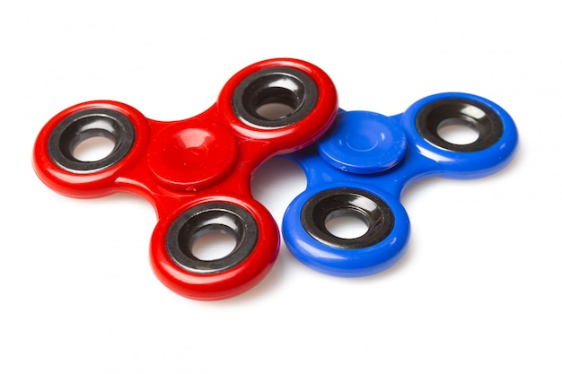 Spinner stress relieving toy isolated