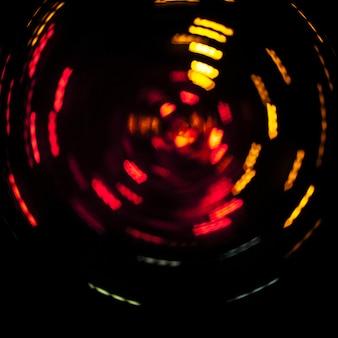Spinning bright lights