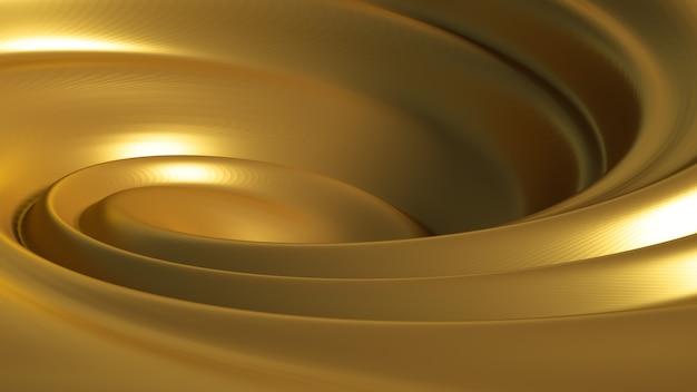Спиральная карамель всплеск. Premium Фотографии