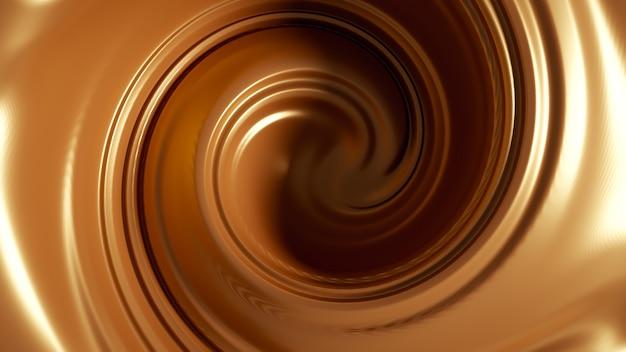 Spiral splash caramel.