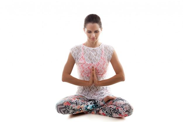 Духовная девушка медитации
