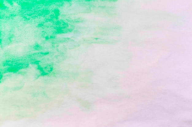 Splash of emerald watercolor