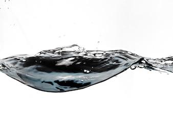 Splash of clean liquid