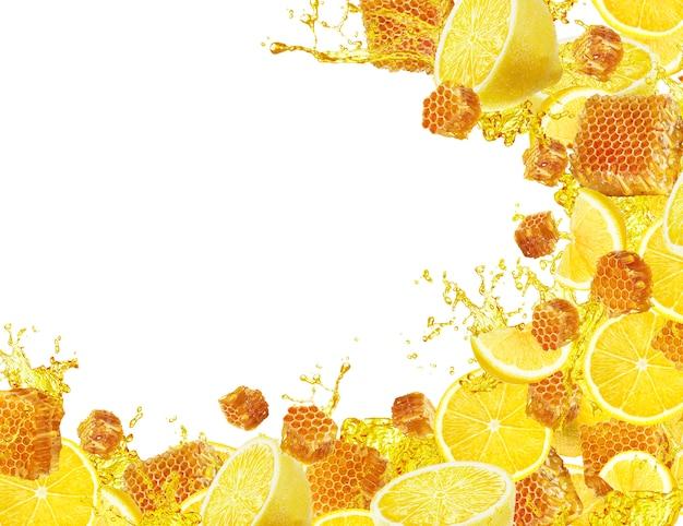 Всплеск меда и лимона