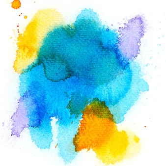 Splash shades colorful watercolor.image