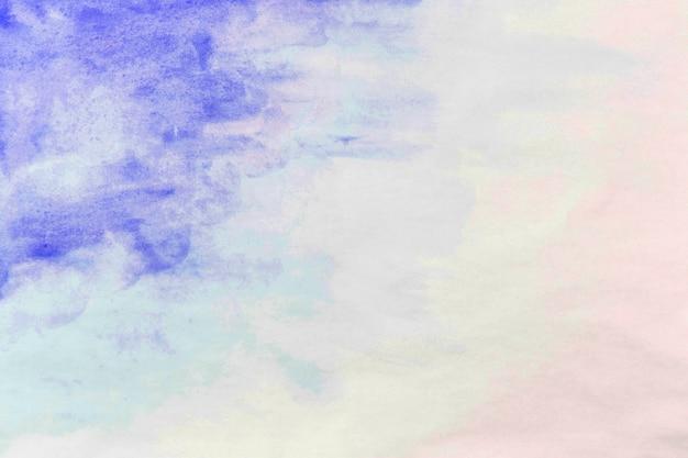 Splash of violet watercolor