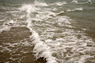 Splasing море
