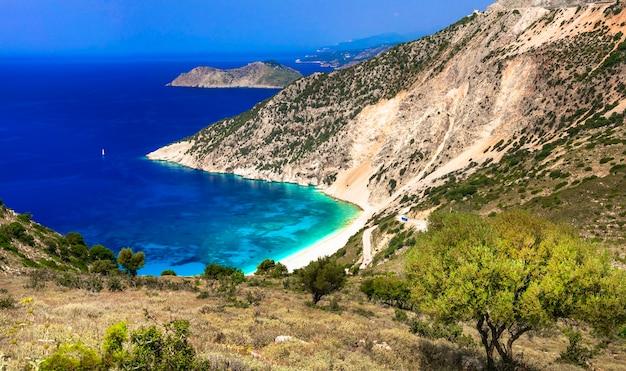 멋진 자연과 그리스 최고의 해변
