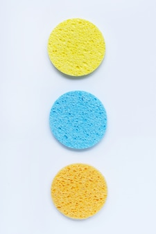 Sponge for  face make-up cleaning