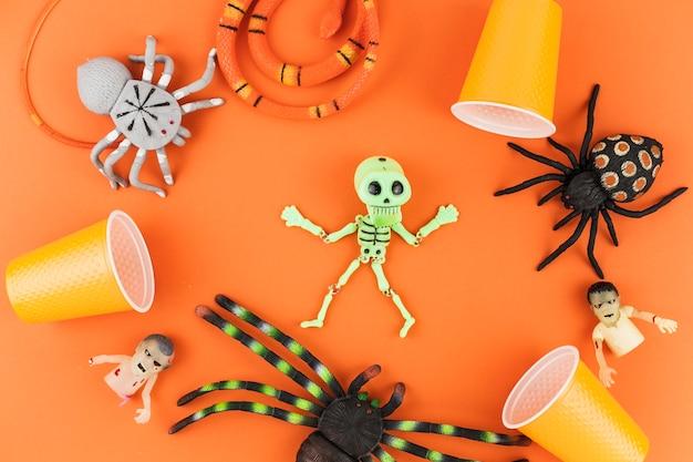 Spooky halloween toys