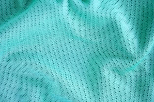 Фон текстуры ткани спортивной одежды, вид сверху поверхности ткани ткани
