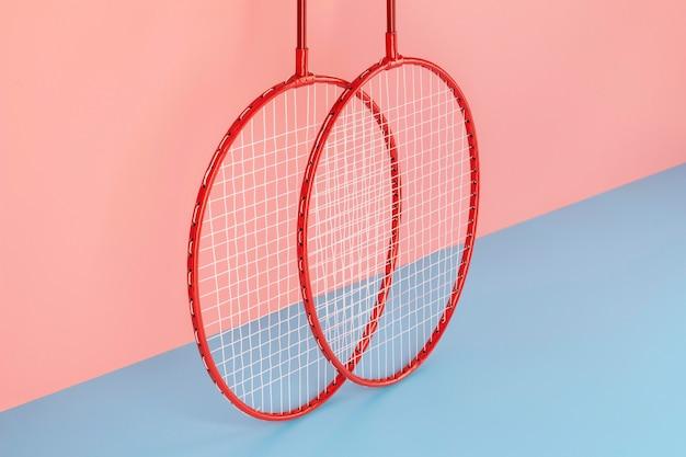 Sport element arrangement in minimal style