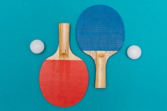 Sport equipment for table tennis