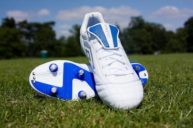 Sport grass football team park field shoes boots