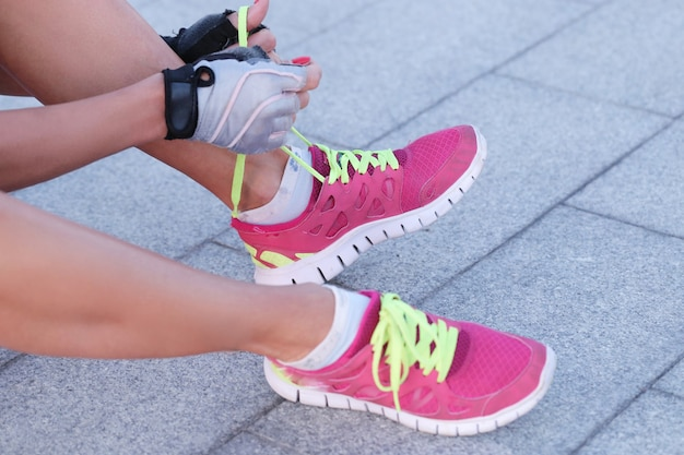 Sport outdoor, woman, shoes