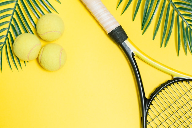 Sport set for playing tennis