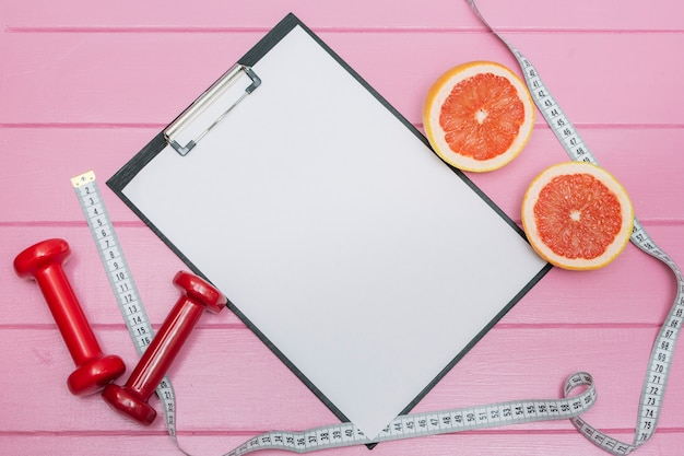 Sport set for successful slimming