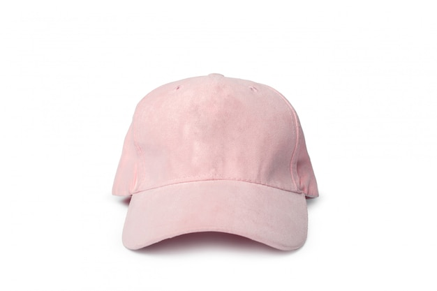Sports cap on white,
