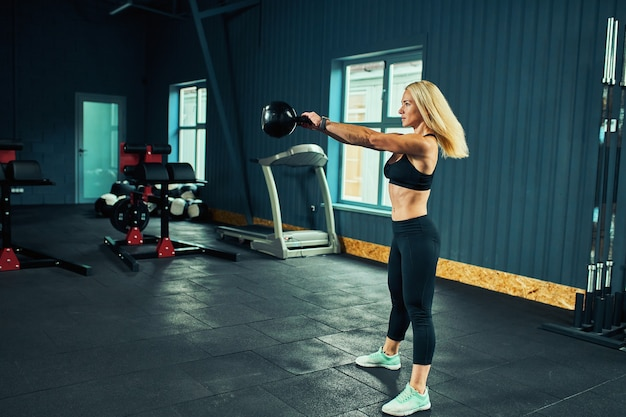Sports concept fat burning and a healthy lifestyle.