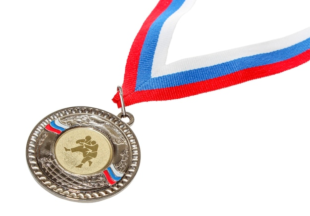 Sports medal for excellence in power kinds arts