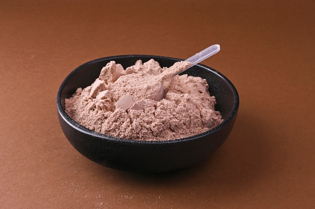 Sports nutrition. protein powder for cocktails.