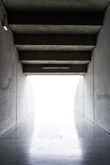 Sports stadium tunnel