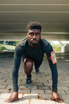 Sportsman ready to run