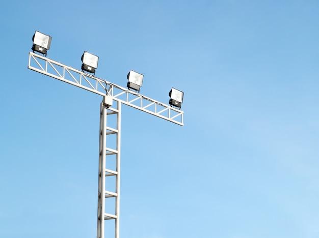 Spot light pole