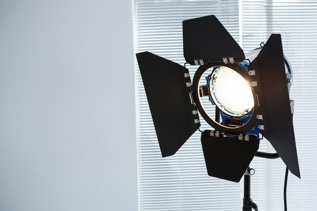 Spotlight in studio
