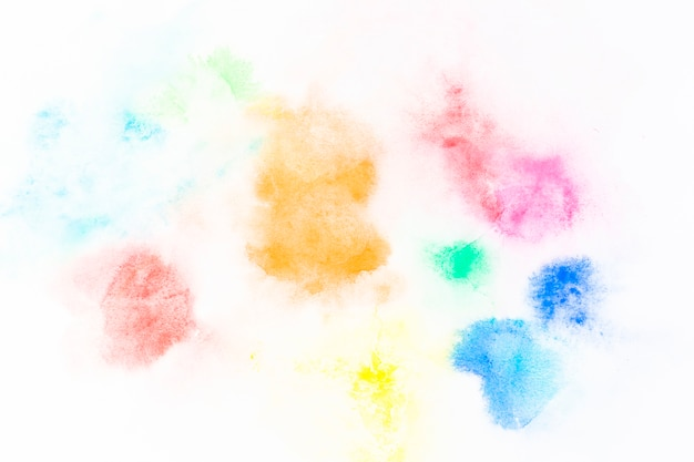 多色塗料のスポット