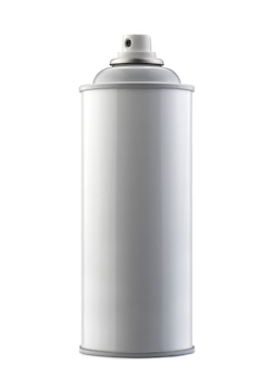 Spray bottle isolated on white