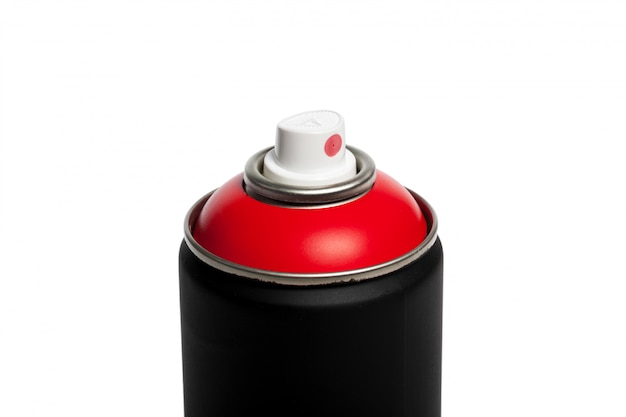 スプレー式塗料缶白