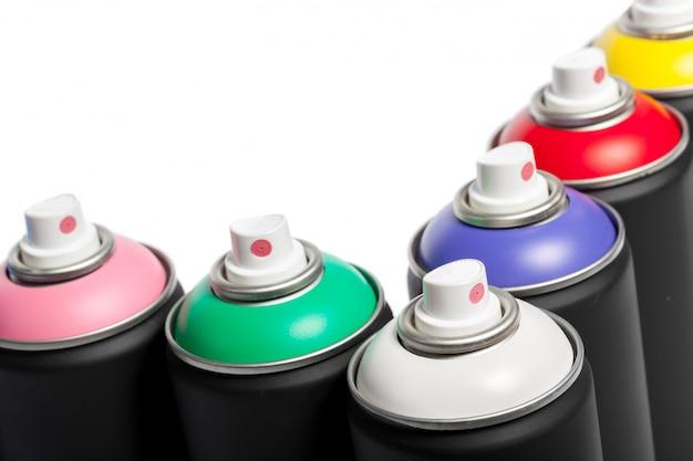 スプレー式塗料缶