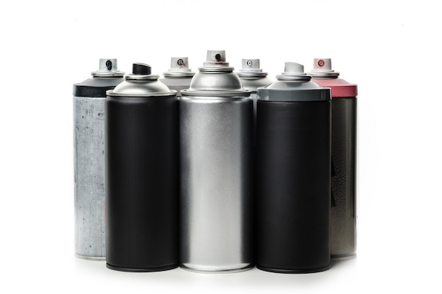 Spray paint dispenser