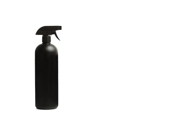 A sprayer bottle on white