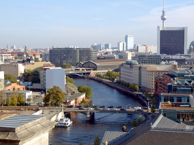 Река шпрее в берлине