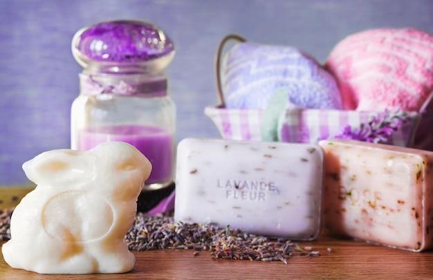Spring aromatherapy concept