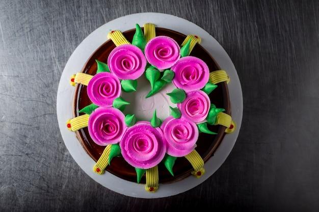 봄 케이크